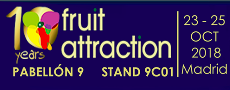 10º aniversario de Fruit Attraction MADRID y CONSORFRUT estará presente.